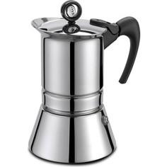 Гейзерная кофеварка на 6 чашек G.A.T. Vip Inox (221006)