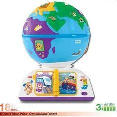 Развивающая игрушка Fisher Price Обучающий глобус (DRJ90)