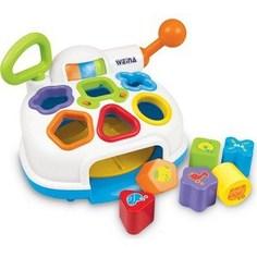 Развивающая игрушка WEINA музыкальный Сортер-разбрасыватель 2002