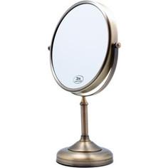 Зеркало косметическое настольное Fixsen Antik, бронза (FX-61121A)