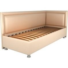 Кровать OrthoSleep Барби бисквит ортопед.основание 90х200 правый угол