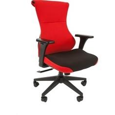Офисное кресло Chairman Game 10 ткань черный/красный