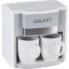 Кофеварка GALAXY GL 0708 белый