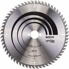 Диск пильный Bosch 250х30мм 60зубьев Optiline Wood (2.608.640.729)