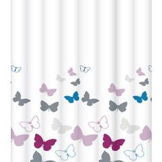 Штора для ванной Lemark Butterfly champagne (C2018T043)
