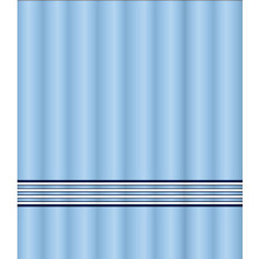 Штора для ванной Lemark Sea waves (C2018T022)