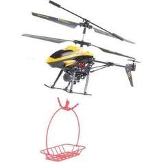 Радиоуправляемый вертолет WL Toys V388 Under With Basket ИК-управление