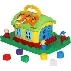 Развивающая игрушка Полесье Сказочный док на лужайке (48752)