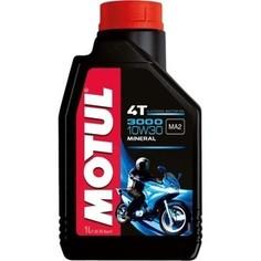 Моторное масло MOTUL 3000 4T 10W-30 1 л
