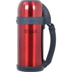 Термос 1.2 л коричневый Taller (TR-2409 коричневый)