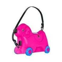 Чемодан BIG Детский на колесиках, розовый, 50,5х23х34,5 см (55353)