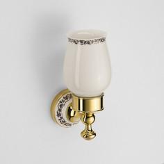 Стакан керамика Schein Saine Gold (7053011VF) золото