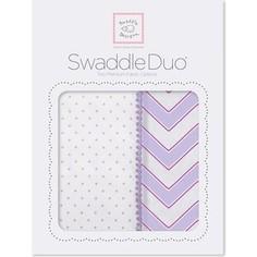 Набор пеленок SwaddleDesigns Swaddle Duo LV Classic Chevron (SD-484L)