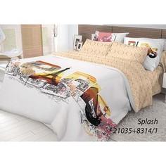 Комплект постельного белья Волшебная ночь 2-х сп, ранфорс, Splash с наволочками 70x70 (702196)