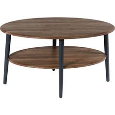 Стол журнальный Калифорния мебель Эль СЖ-01 грецкий орех