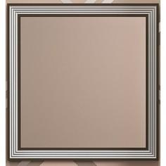 Зеркало в деревянной раме Opadiris Карат 80 серебро, с подсветкой и сенсорным выключателем (Z0000004136)