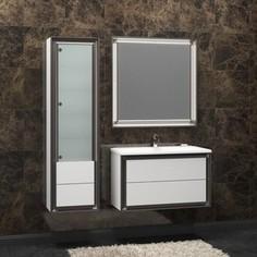 Мебель для ванной Opadiris Капри 90 белый глянцевый/нагал P46