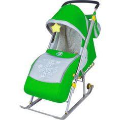 Санки-коляска Ника Детям НД4 (зеленый) Nika