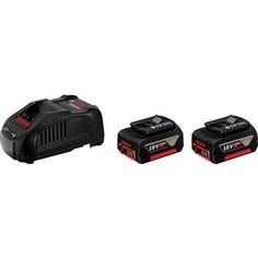 Зарядное устройство Bosch 18 V, 5,0 Ач + GAL 1880 CV (1.600.A00.B8J)