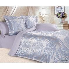 Комплект постельного белья Ecotex 2-х сп, сатин-жаккард, Севилья (4680017869720)