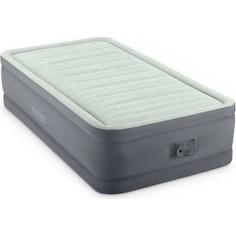 Надувная кровать Intex Premaire Elevated Airbed 99х191х46 см встроенный насос 220V (64902)