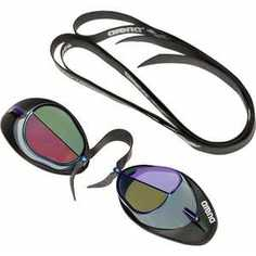 Очки для плавания Arena Swedix Mirror, арт.9239957, зеркальные линзы