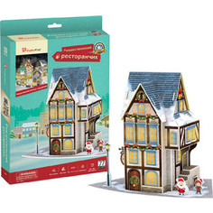 Пазл CubicFun Рождественский коттедж 4 (с подсветкой) (P804h)