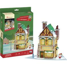 Пазл CubicFun Рождественский коттедж 3 (с подсветкой) (P803h)