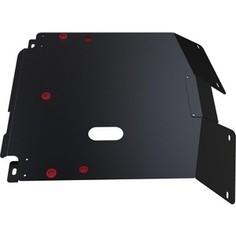 Защита картера и КПП АвтоБРОНЯ для Honda HR-V (1999-2005), сталь 2 мм, 111.02112.1
