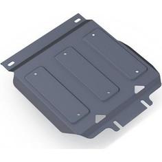 Защита картера Rival для Infiniti QX56 (2010-2013), QX80 (2013-н.в.) / Nissan Patrol (2010-н.в.), алюминий 4 мм, 333.4122.1