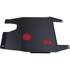Защита картера и КПП АвтоБРОНЯ для Chery Fora (2006-2008) / Vortex Estina (2008-2011), сталь 2 мм, 111.00902.3