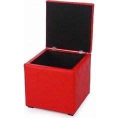 Пуф Мебельстория Ромби-2 красный