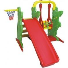 Игровой компекс KING KIDS (качели, горка, баскетбольное кольцо) KK_KS9060-A