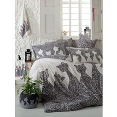 Комплект постельного белья Hobby home collection 1,5 сп, поплин, Jazz, черный (1607000133)