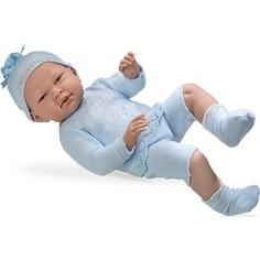 Кукла Arias ELEGANCE пупс винил.в голуб.костюмчике со стразами Swarowski в виде котёнка,52см,кор. (Т59292)