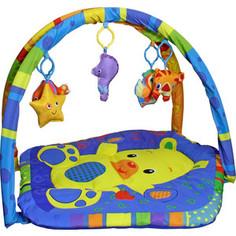 Игрушка для малышей S+S TOYS Развивающий коврик с дугой: мир вокруг нас. (СС76747)