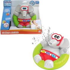 Игрушка для ванной 1Toy Kidz Delight Весёлый Слонёнок (Т10500)