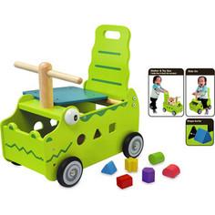 Игрушка Im toy Сортер-каталка Крокодил