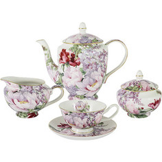 Чайный сервиз 15 предметов на 6 персон Anna Lafarg Stechcol Райский сад (AL-17815E-TS/15-ST)