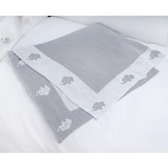 Плед PICCI Miro серый 115*150см D116C36-22