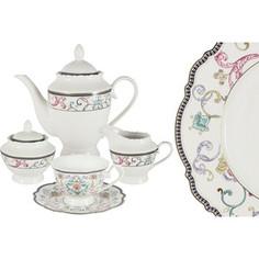 Чайный сервиз 15 предметов на 6 персон Anna Lafarg Primavera Узор (AL-NHK15-045-PW)