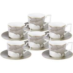 Набор чайный 12 предметов 0.25 л Naomi Лунная соната (NG-I160703S-T6)