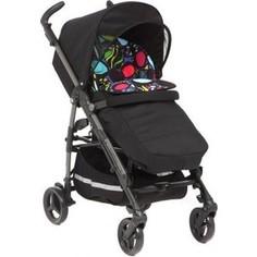 Коляска прогулочная Peg-Perego Si Completo, шасси DARK GREY stroller цвет si Manri, черн/цветной принт