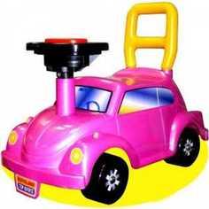 Каталка Нордпласт Go! (розовый) 431012/ 1 Нордпласт.