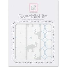 Набор пеленок SwaddleDesigns SwaddleLite PB Elephant/Chickies (SD-478PB)