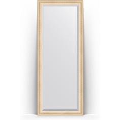 Зеркало напольное с фацетом поворотное Evoform Exclusive Floor 80x200 см, в багетной раме - старый гипс 82 мм (BY 6110)