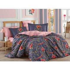 Комплект постельного белья Hobby home collection Евро, сатин, Ornella, красный (1501001142)
