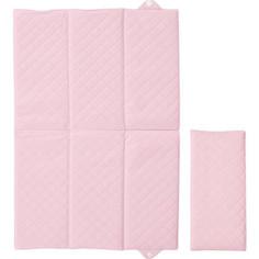 Матрас пеленальный Ceba Baby 40*60 см для путешествий Caro pink W-305-079-137
