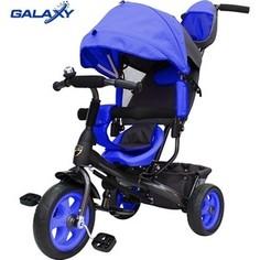 Велосипед 3-х колесный GALAXY Лучик VIVAT синий