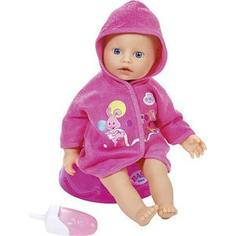Кукла Zapf Creation Бэби Борн быстросохнущая с горшком и бутылочкой, 32 см (823-460)